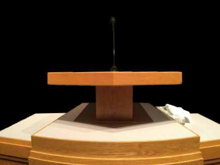 Pulpit podium