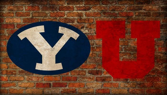 BYU and Utah logos